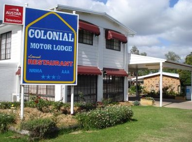 Colonial Motor Lodge - Accommodation Perth