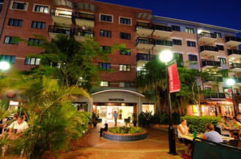 Central Brunswick Apartment Hotel - Accommodation Perth