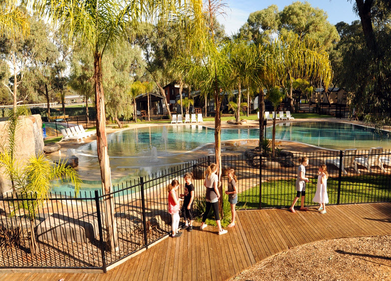 BIG4 Renmark Riverfront Caravan Park - Accommodation Perth