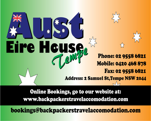 Aust Eire House Tempe - Accommodation Perth