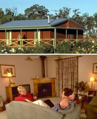 Twin Trees Country Cottages - Accommodation Perth