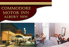 Commodore Motor Inn - Accommodation Perth