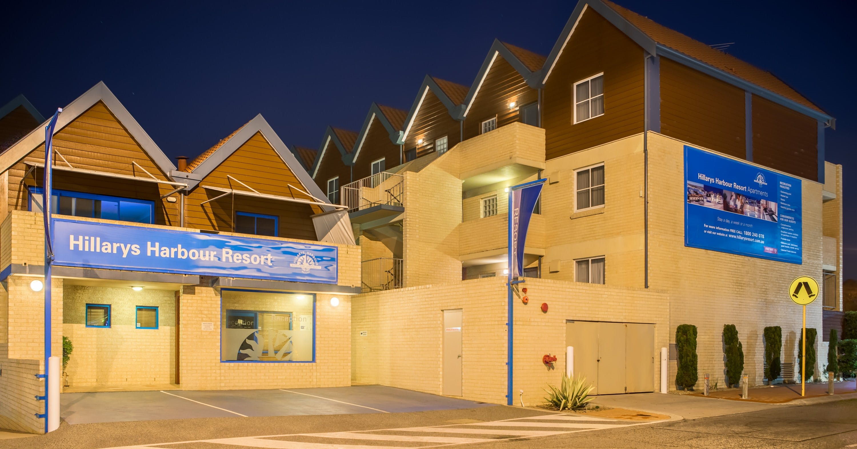 Hillarys Harbour Resort - Accommodation Perth