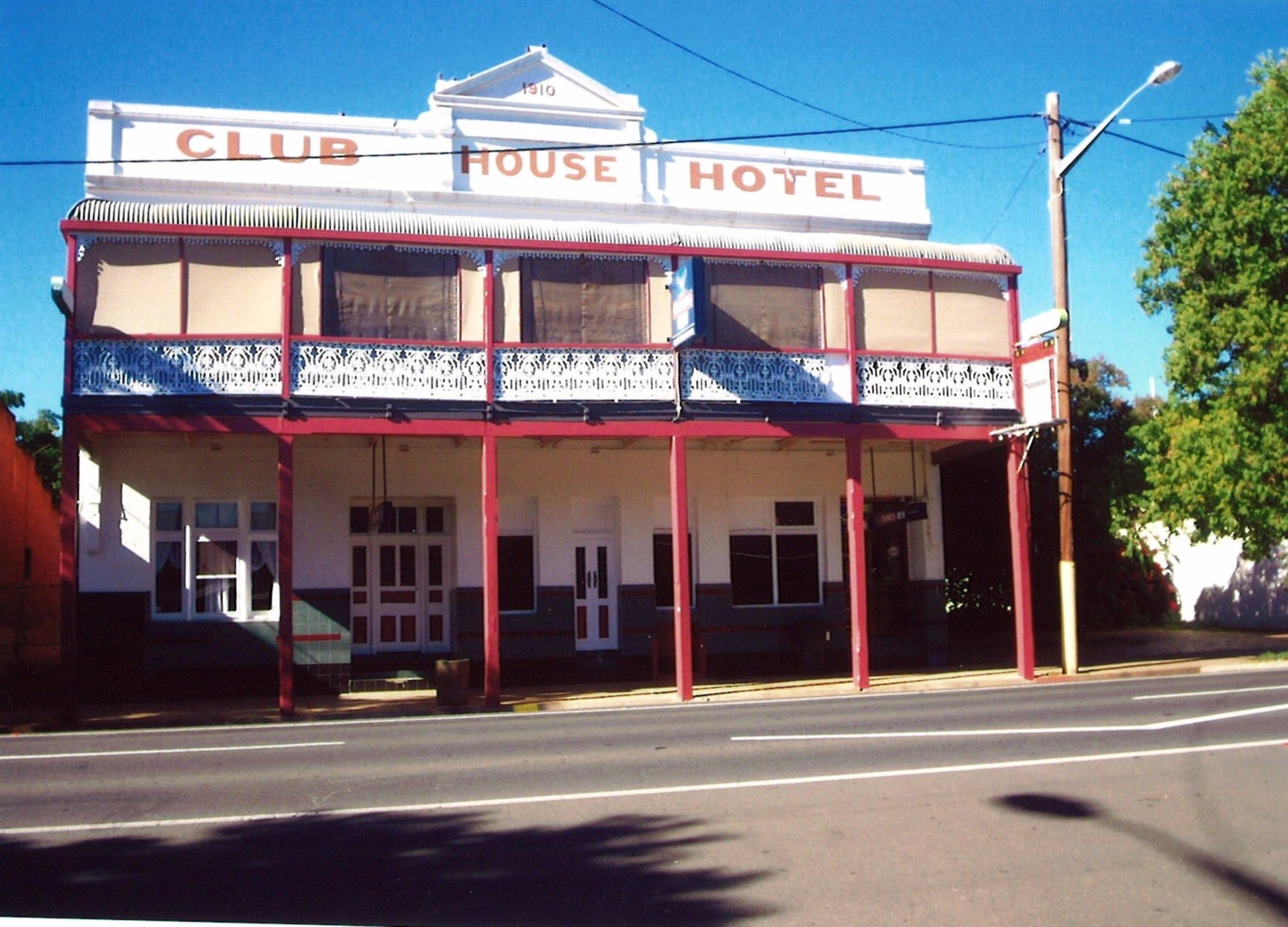 Club House Hotel - Accommodation Perth