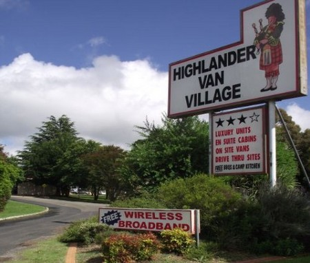 Highlander Van Village - Accommodation Perth