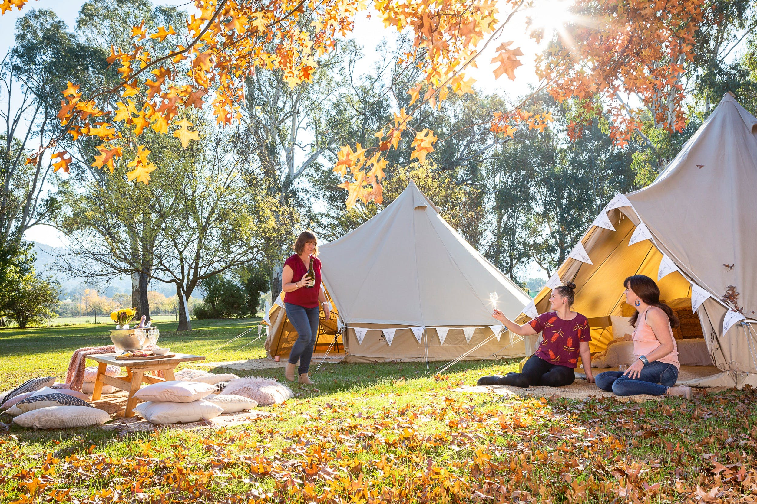 Valley View Glamping - Accommodation Perth