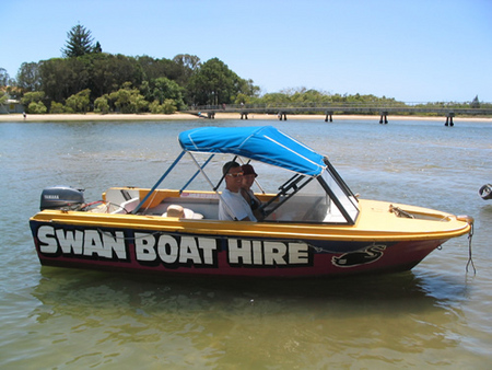 Swan Boat Hire - Accommodation Perth