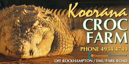 Koorana Saltwater Crocodile Farm - Accommodation Perth