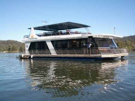 Able Hawkesbury River Houseboats - Accommodation Perth