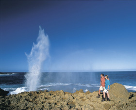 The Blowholes Carnarvon - Accommodation Perth