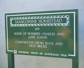 Mangowine Homestead - Accommodation Perth