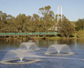 Suspension Bridge - Accommodation Perth