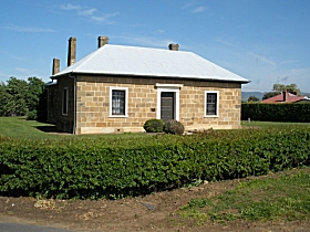 Oatlands Court House - Accommodation Perth