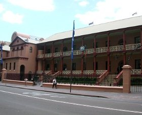 Parliament House - Accommodation Perth