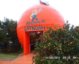Gayndahs Big Orange - Accommodation Perth