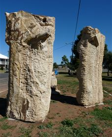 Fossilised Forrest Sculptures - Accommodation Perth