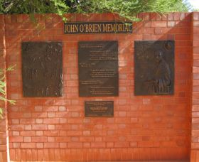 John OBrien Commemorative Wall - Accommodation Perth