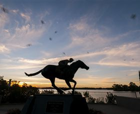 Black Caviar Statue - Accommodation Perth