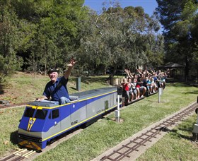 Willans Hill Miniature Railway - Accommodation Perth