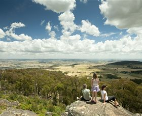 Mt Wombat lookout - Accommodation Perth