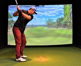 Par-Tee Virtual Golf - Accommodation Perth