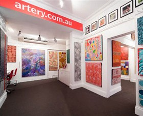The Artery Aboriginal Art - Accommodation Perth