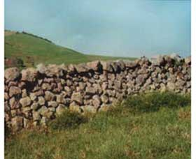 Historic Dry Stone Walls - Accommodation Perth