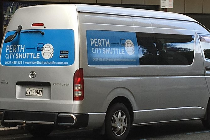 2 Passenger Shared Arrival Transfer - Perth Airport to Perth City Hotel - Accommodation Perth