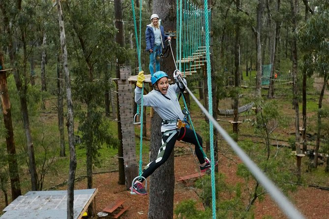 Busselton High Ropes and Zipline Adventure