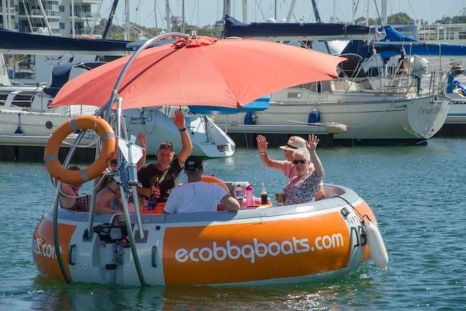 Self-Drive BBQ Boat Hire Mandurah - Group of 7 - 10 people - Accommodation Perth