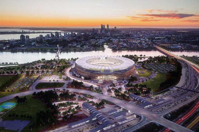 The Optus Stadium Tour - Accommodation Perth