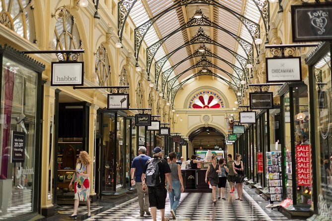 Half Day Small Group Guided Shopping Tour in Melbourne
