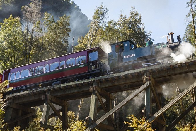 West Coast Wilderness Railway: Queenstown Explorer from Strahan