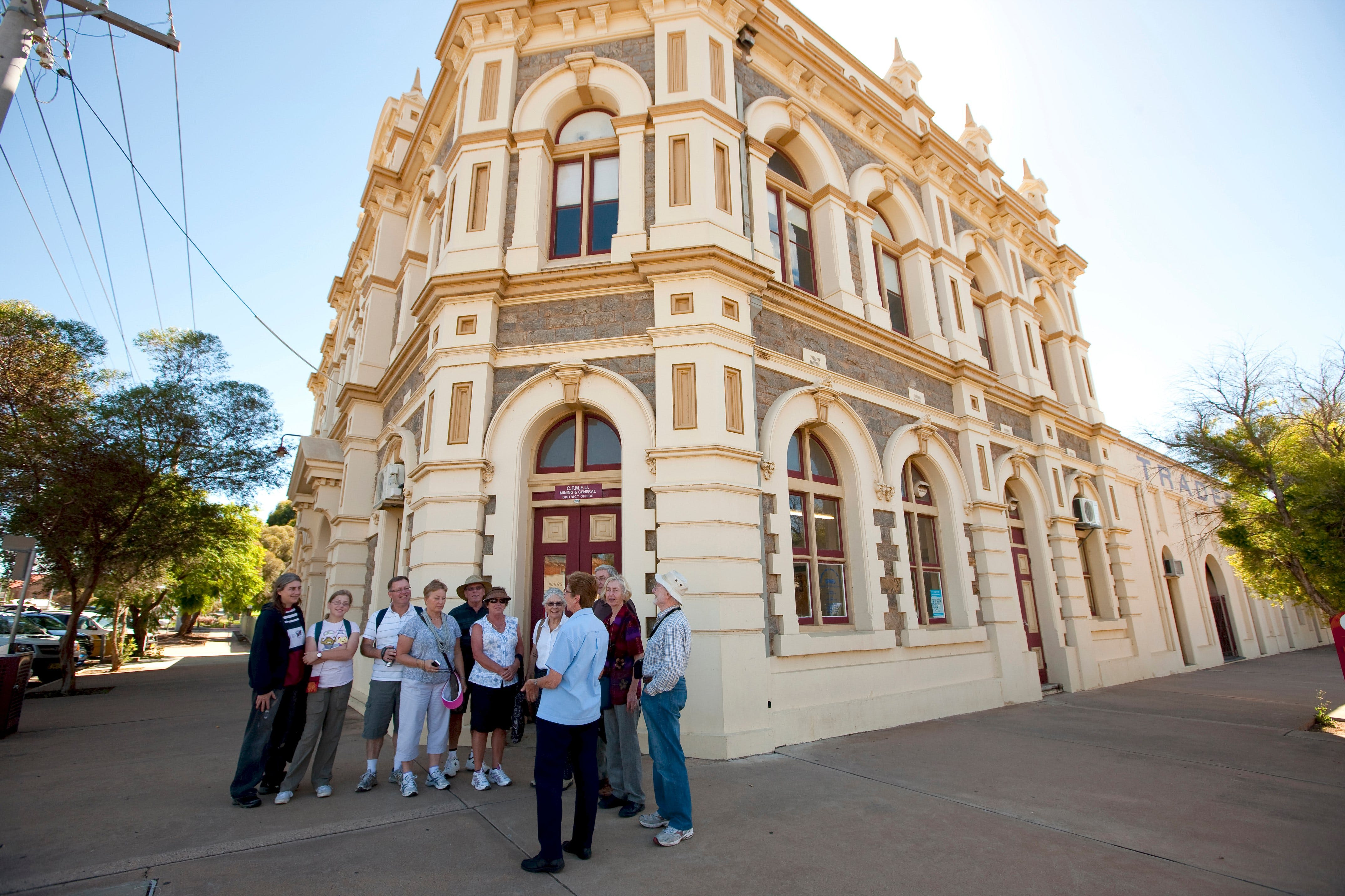 Broken Hill Heritage Walk Tour - Accommodation Perth