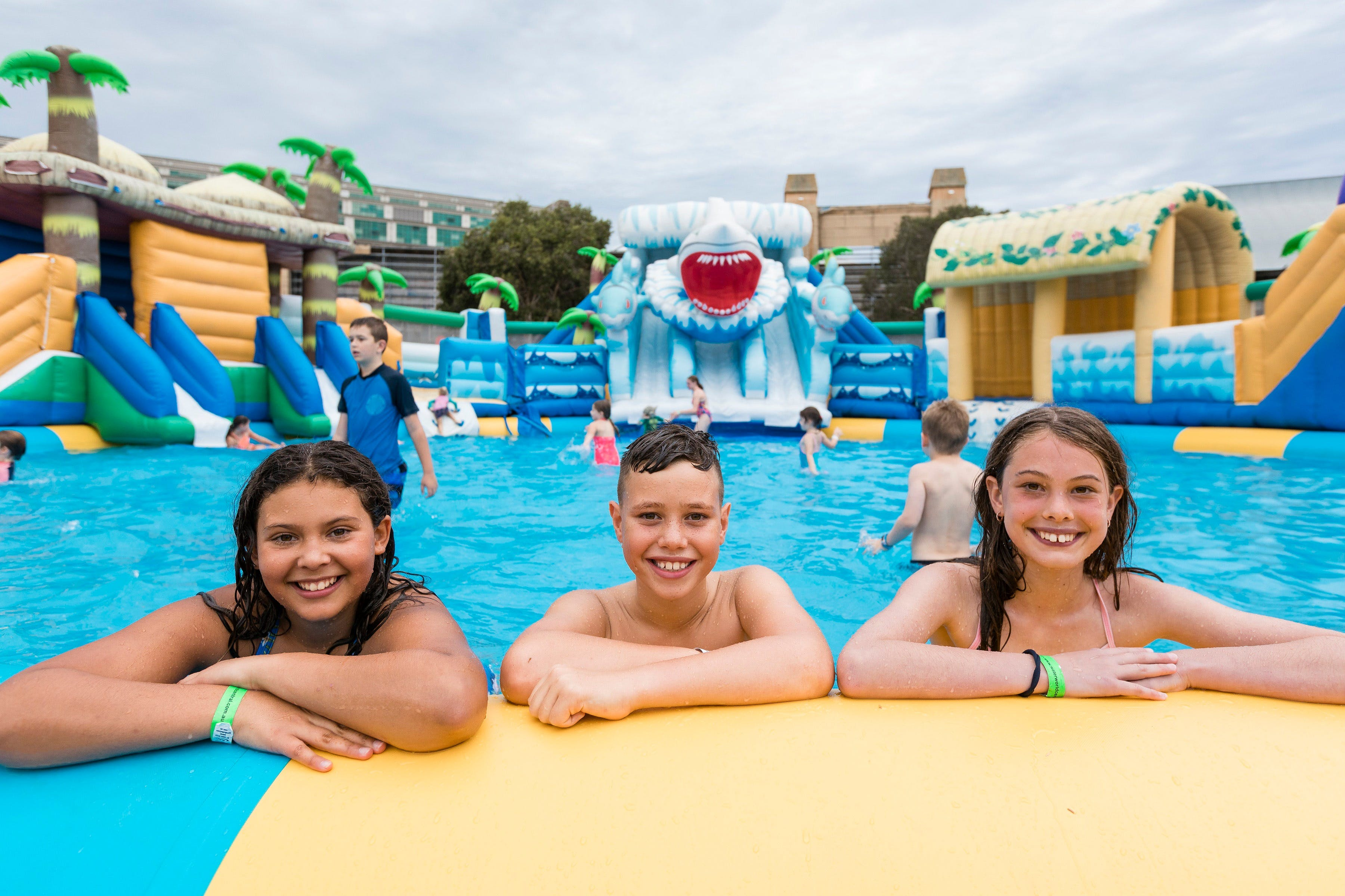Waterworld Central - Mobile Inflatable Waterpark - Accommodation Perth