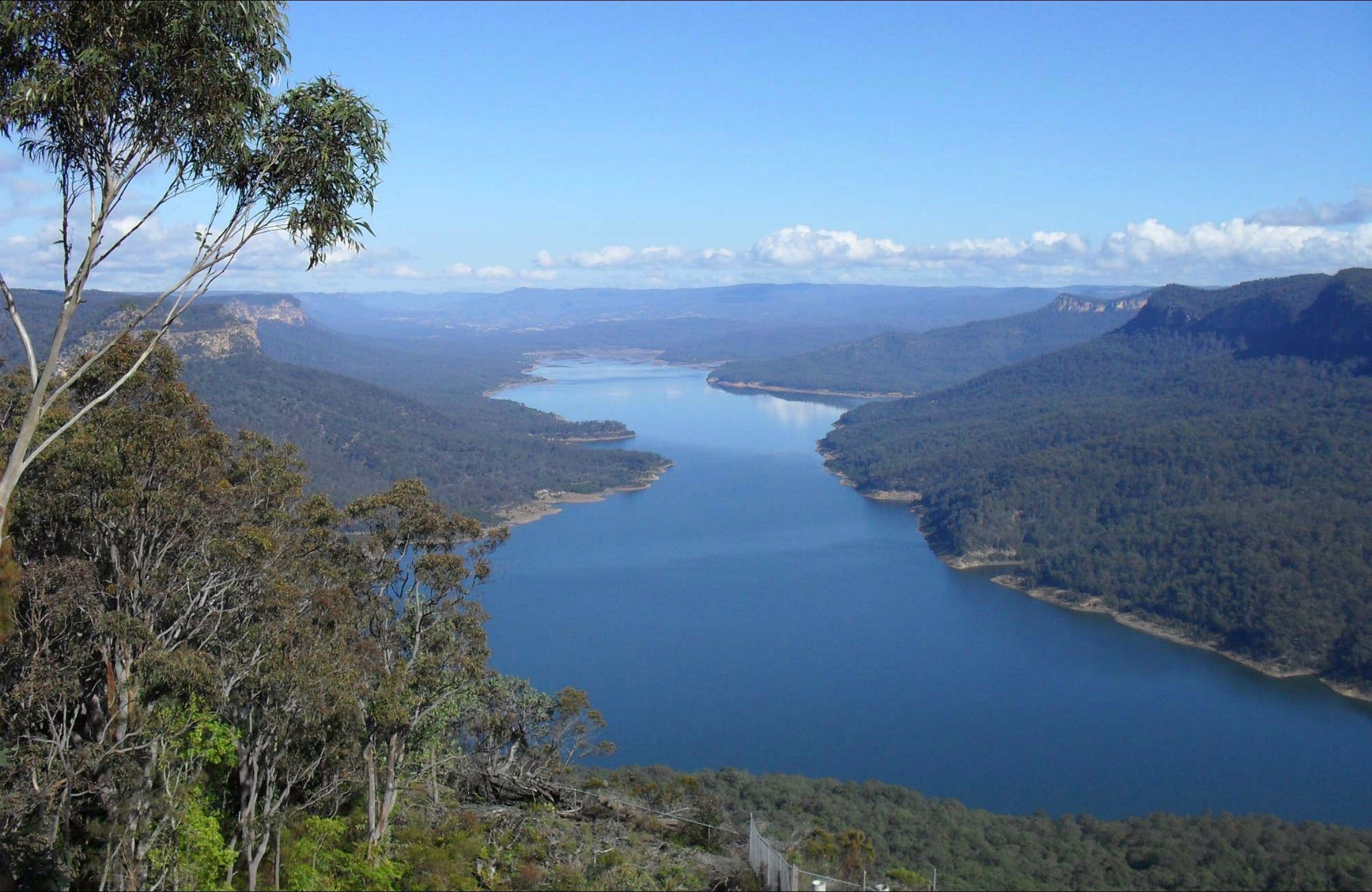 Burragorang lookout and picnic area - Accommodation Perth