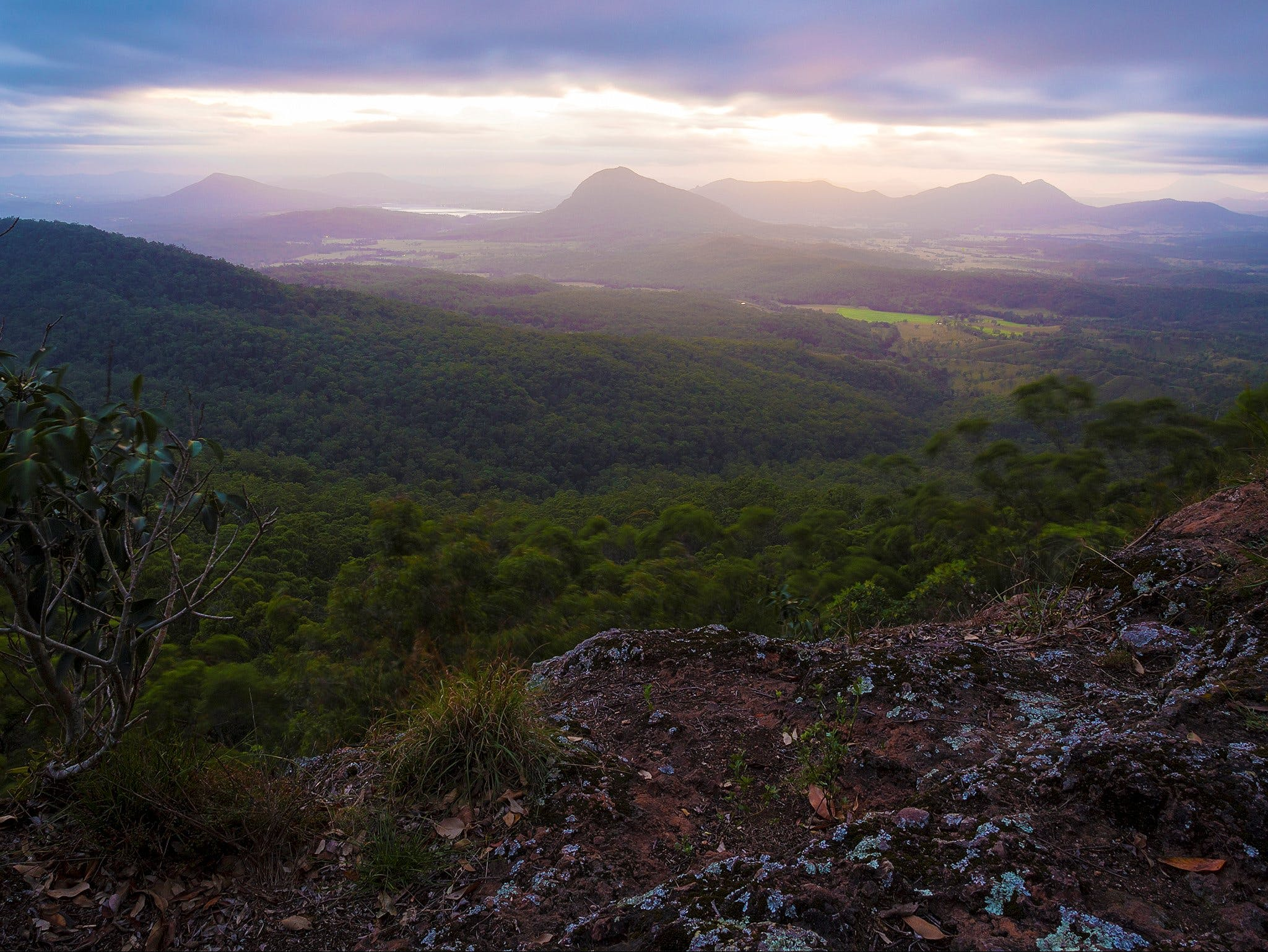 Cunninghams Gap and Spicers Gap Main Range National Park - Accommodation Perth