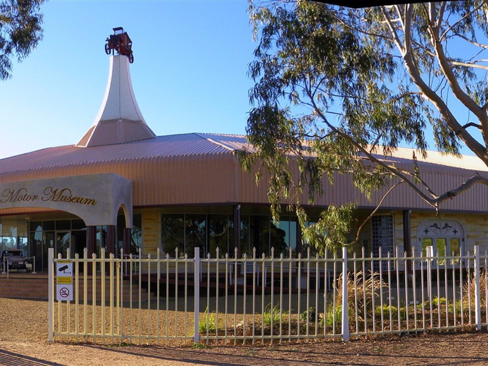 McFeeters Motor Museum and Visitor Information Centre - Accommodation Perth