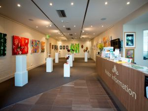 Australian National Botanic Gardens Visitor Centre Gallery - Accommodation Perth