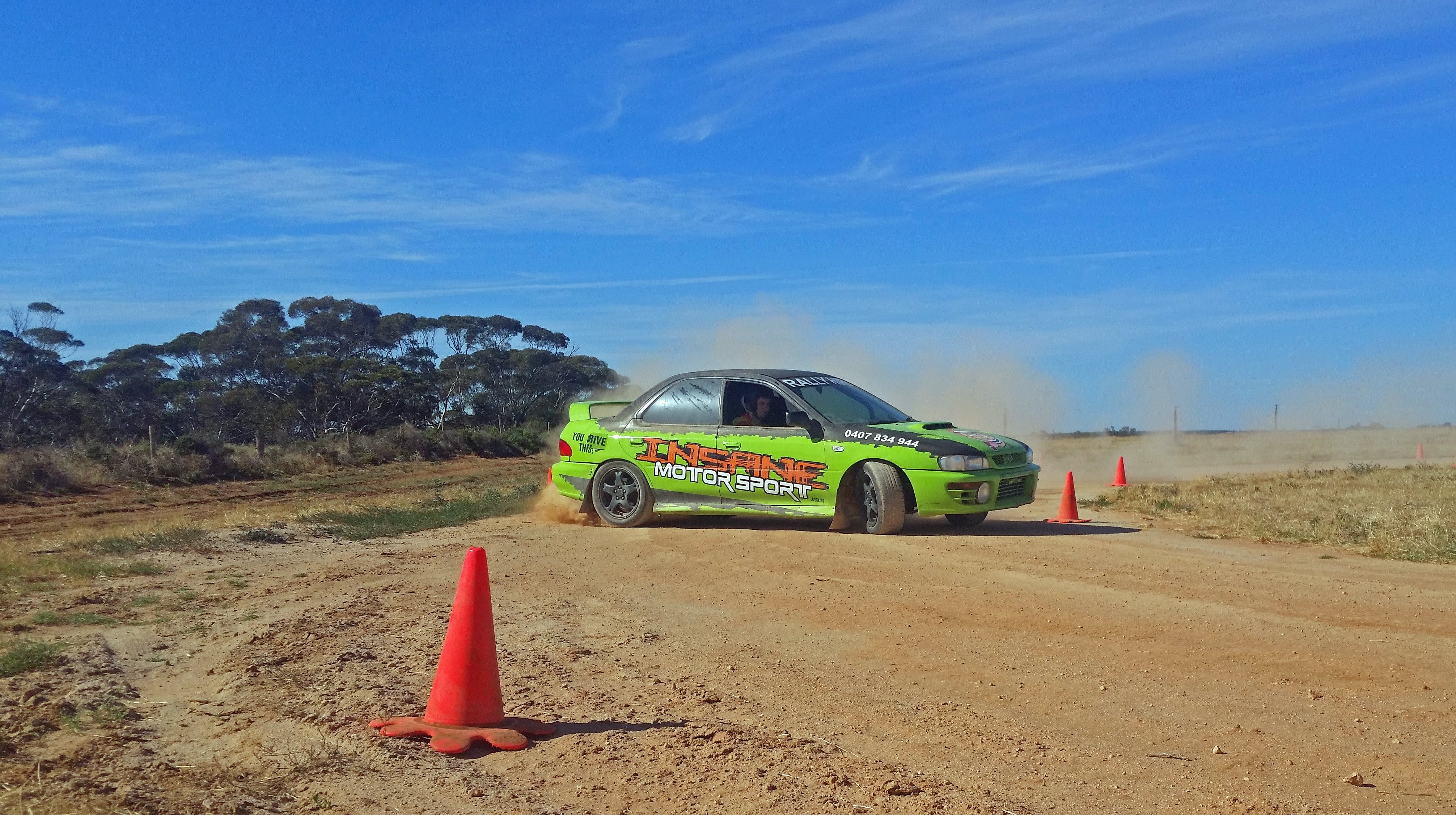 Rally Driving Loveday - Accommodation Perth