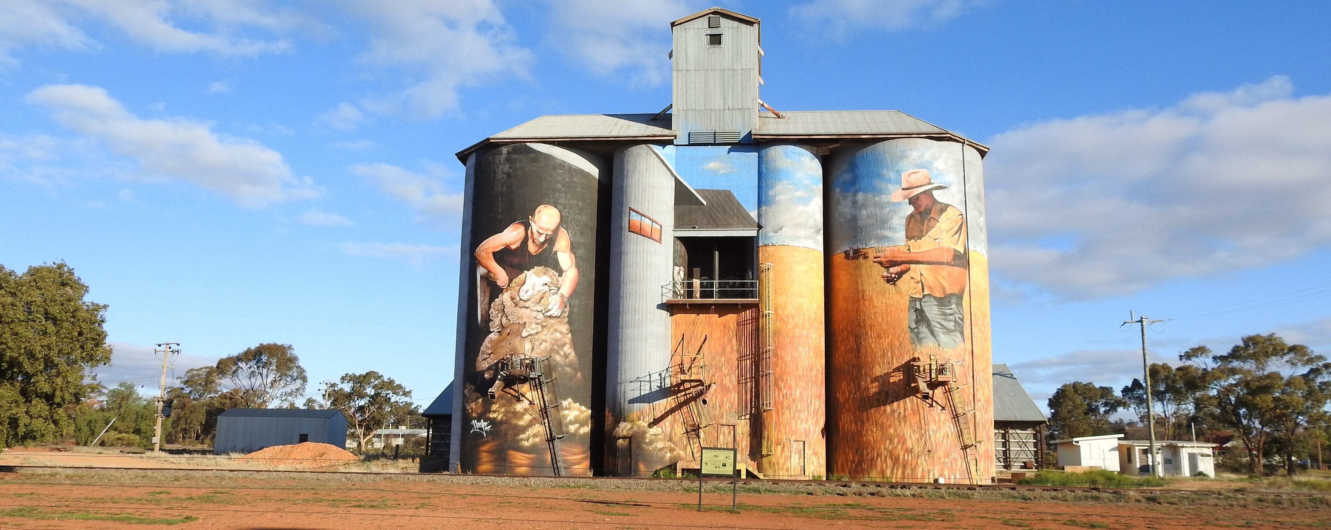 Riverina Outdoor Art Trail - Accommodation Perth