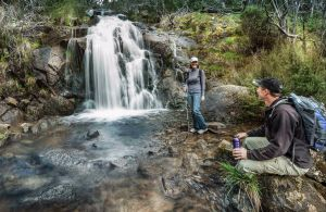 Waterfall Walking Track Kosciuszko National Park - Accommodation Perth