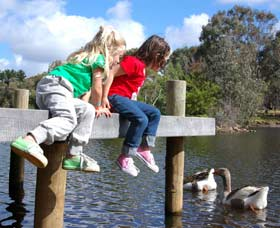 Vasse River and Rotary Park - Accommodation Perth