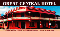 Great Central Hotel - Accommodation Perth
