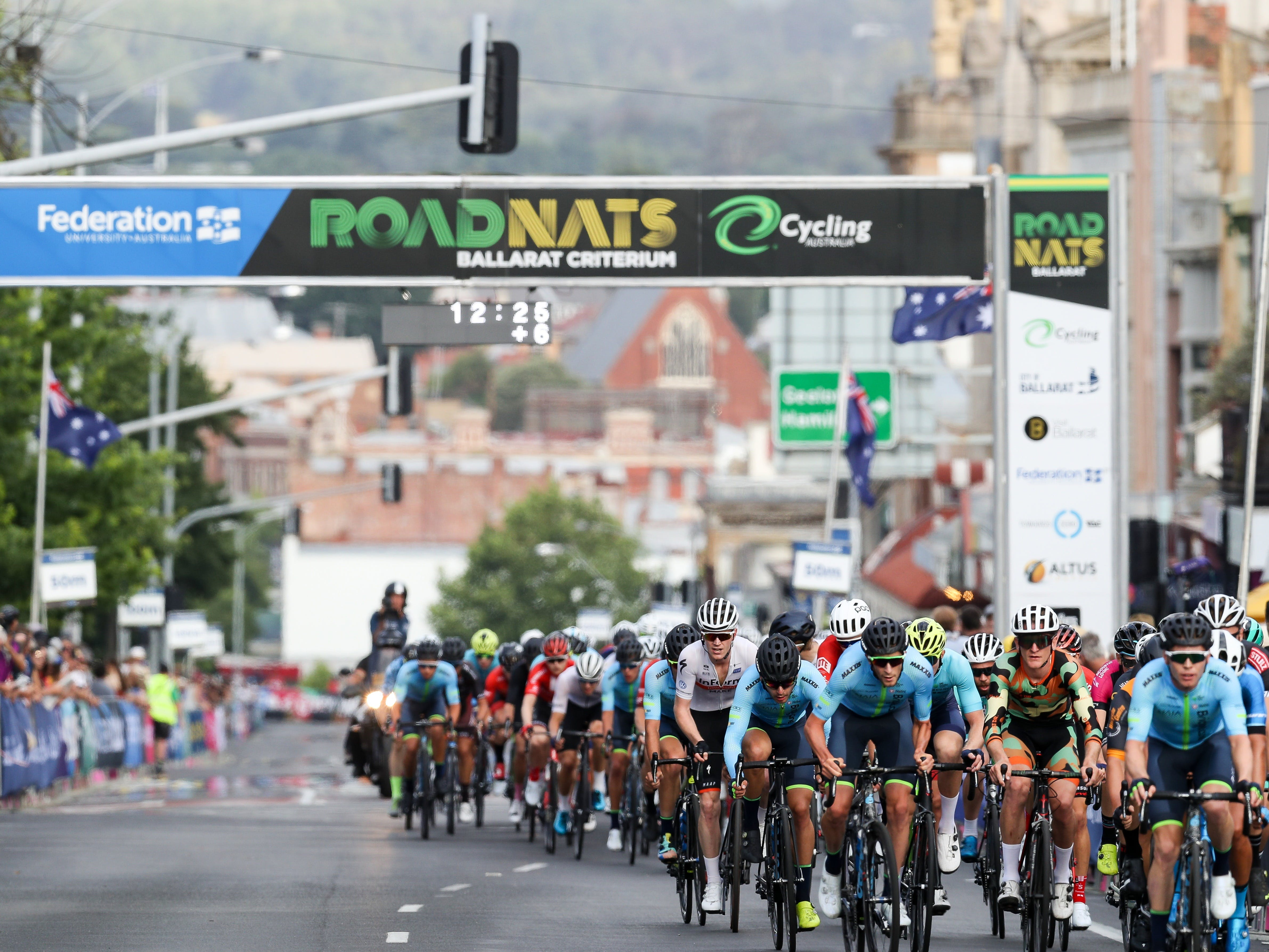 Federation University Criterium National Championships - Ballarat - Accommodation Perth