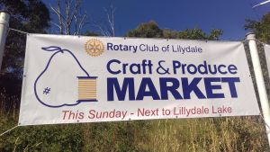 Rotary Club of Lilydale Craft and Produce Market - Accommodation Perth