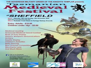 Sheffield Tasmania Medieval Festival 2020 - Accommodation Perth