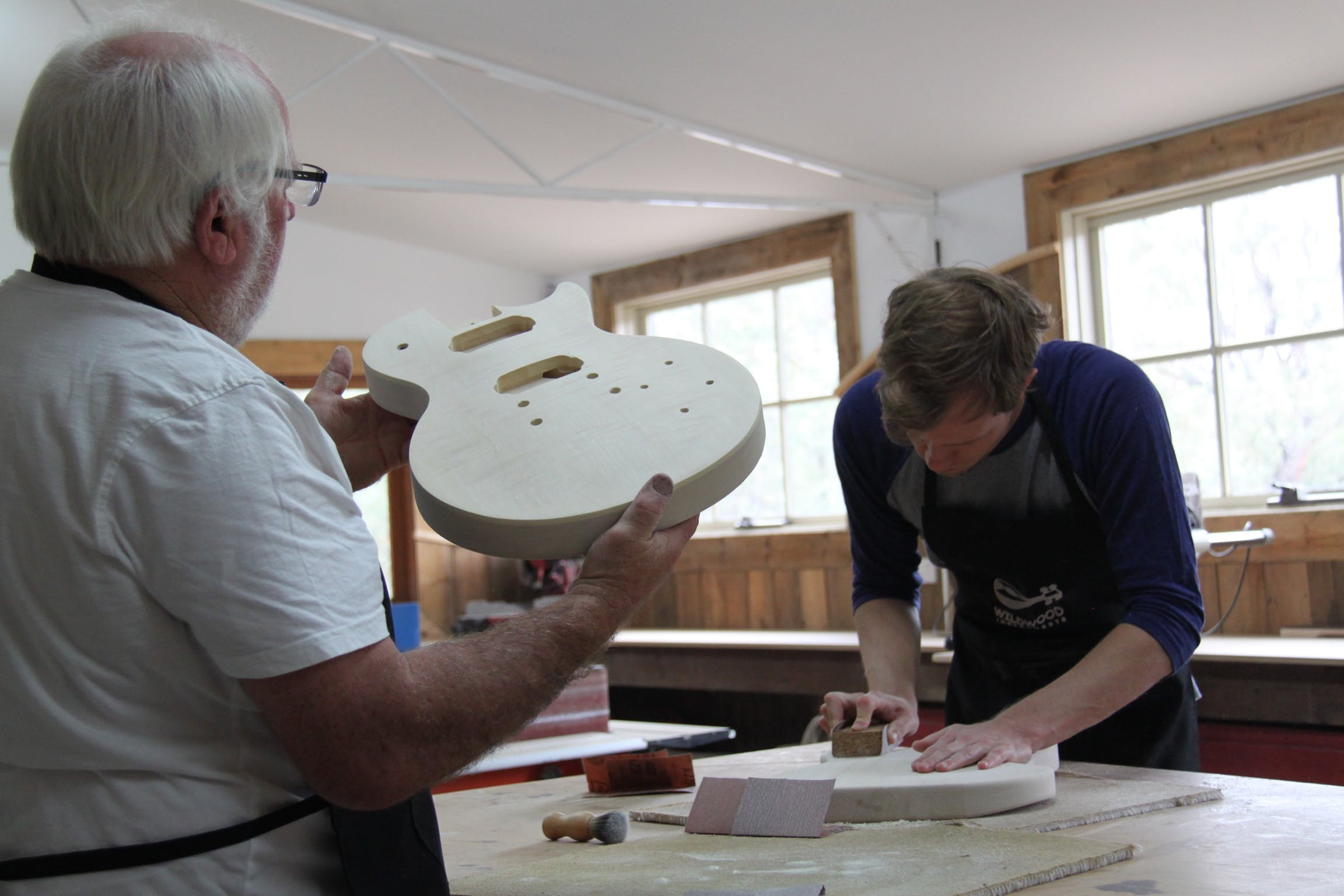 Electric Guitar Making Courses - Accommodation Perth