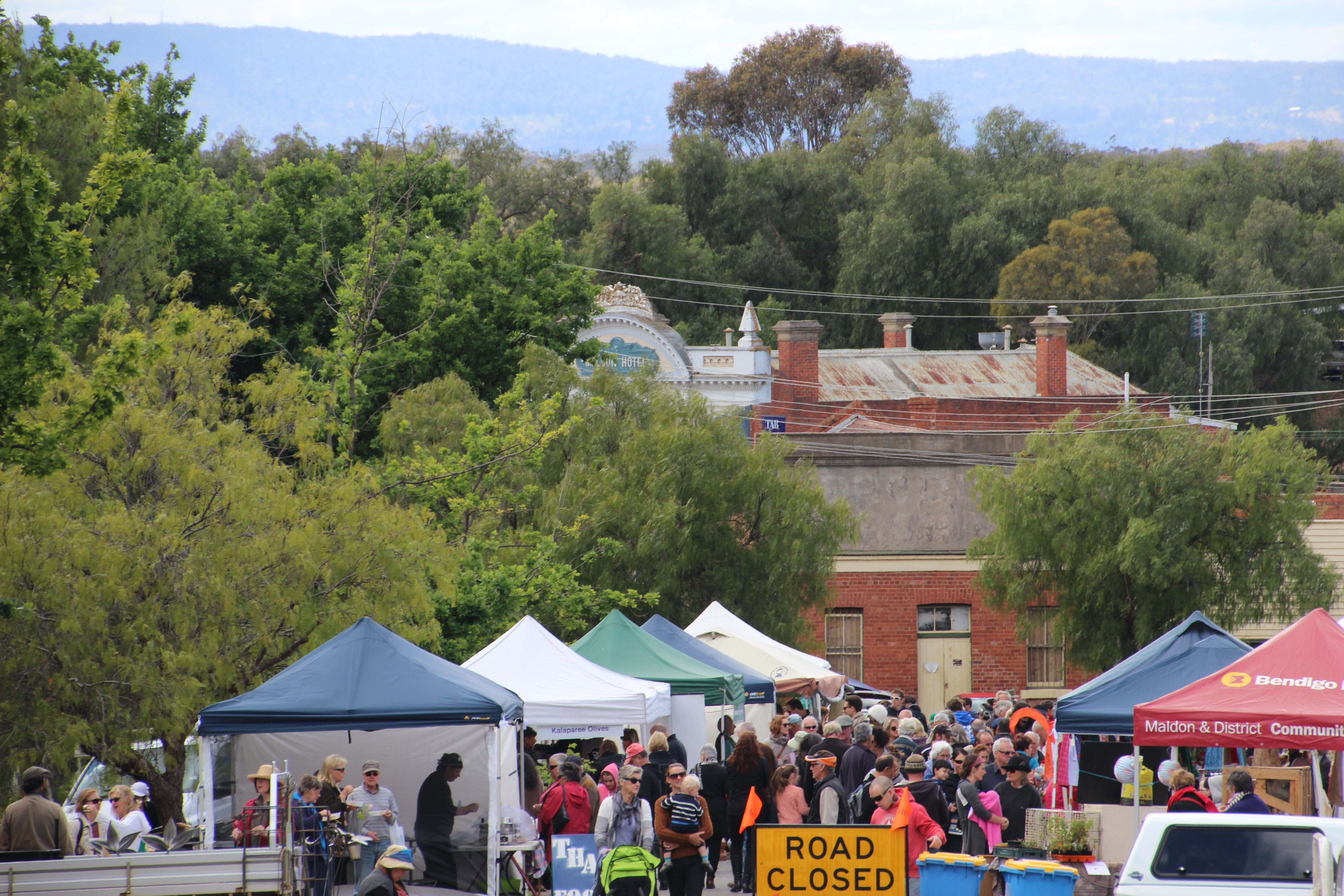 Maldon Market Handmade Home grown - Accommodation Perth