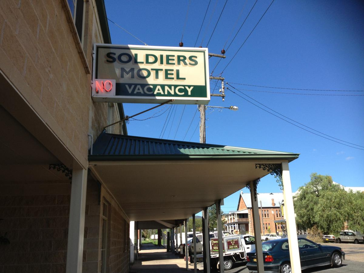 Soldiers Motel - Accommodation Perth